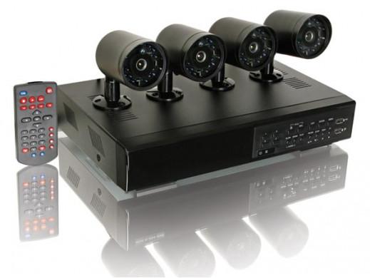 ZESTAW MONITORINGOWY CCTV
