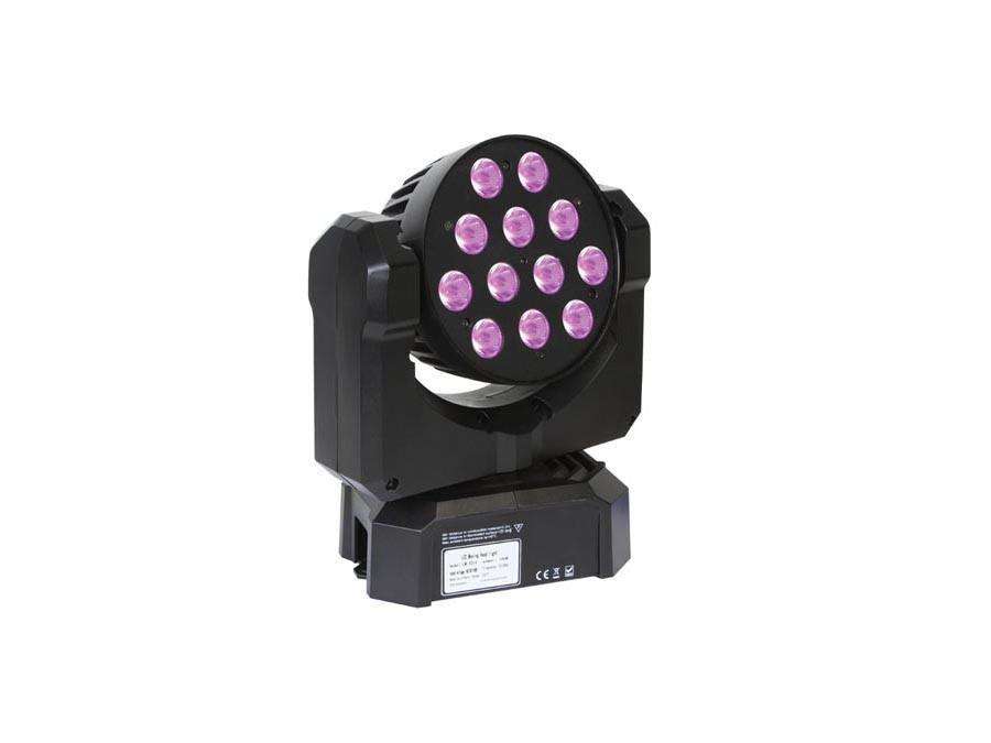 RUCHOMA GŁOWA EXPLIO II - 12 x 3W RGBW LED
