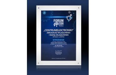 Forbs - Wyróżnienie w rankingu najlepszych firm rodzinnych