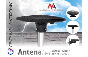 Antena TV DVB-T wew-zew Maclean MCTV-983 Black Carbon